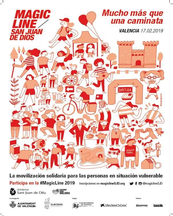 Alboraia serà punt de partida de la primera Magic Line de València