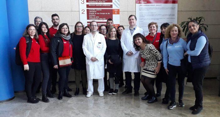L'Hospital de la Ribera col·labora amb IDEA en la formació de persones desocupades