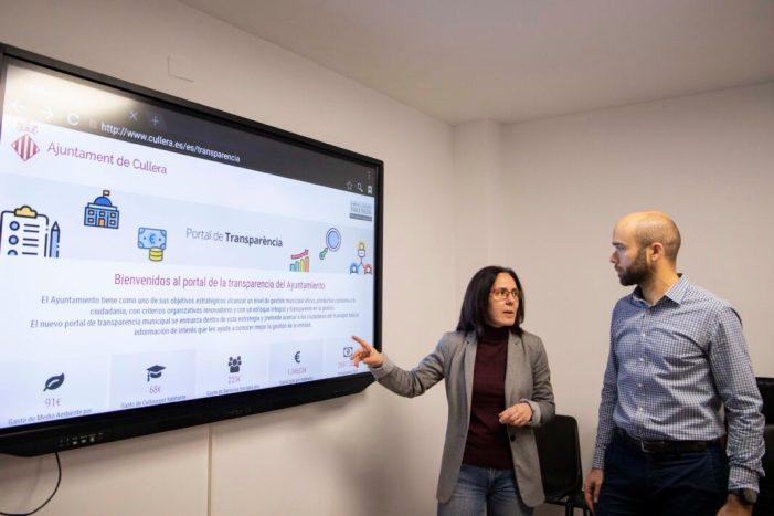 Cullera renova el seu portal de transparència i incorpora un visor pressupostari