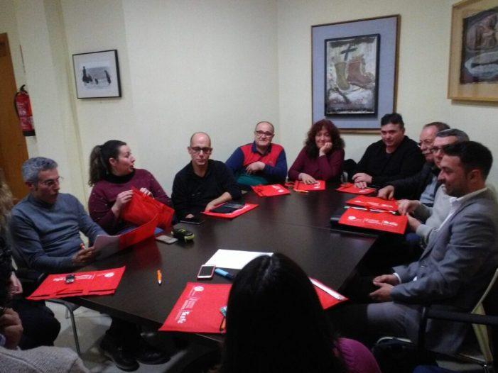 L'Ajuntament de Picassent es reuneix amb representants del comerç local per planificar el calendari 2019
