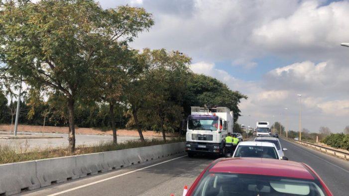 """Alzira s'adherix a la campanya especial de vigilància """"Truck and bus"""" de la DGT"""