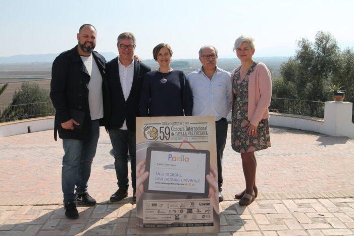 «Volem unir al món sencer al voltant de la paella».59 edició del Concurs  de Paella Valenciana de Sueca