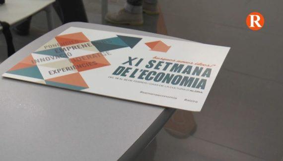L'Ajuntament d'Alzira, amb la col·laboració de l'Associació Empresarial, ha presentat la XI Setmana de l'Economia 18 al 22 de Febrer.