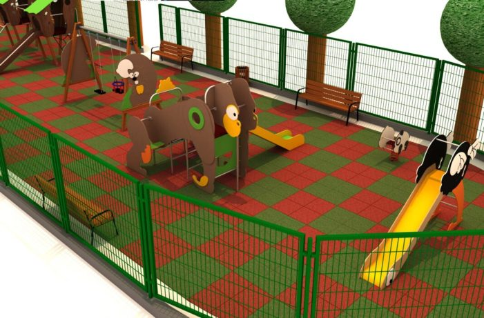 Nou parc infantil al Passeig de l'Estació de Sueca