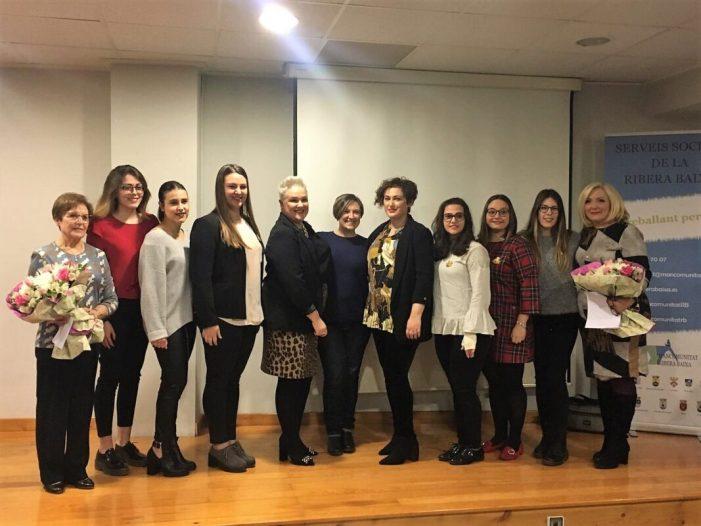 Sueca se suma a la lluita de l'Associació de Dones Operades del Pit de Sueca