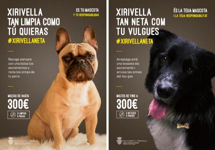 S'inicia la campanya 'Xirivella tan neta com tu vulgues'