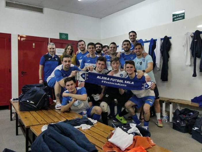 El Nítida Alzira no falla a Calatayud (0-8)