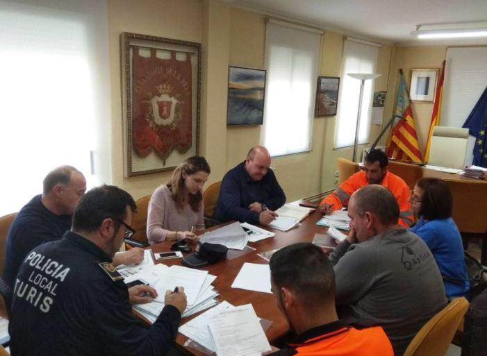 L'Ajuntament coordina als departaments implicats en l'organització de la setmana fallera