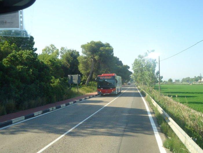 La línia 25 de l'EMT de València farà també parada a El Perelló des d'este divendres