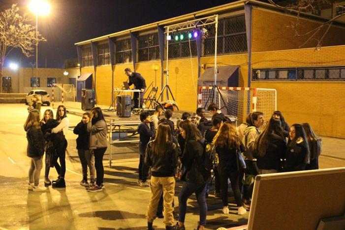 Més de 200 joves participen en la Zombie Party de l'Espai Jove