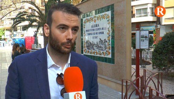 José Andrés Hernández, candidat a l'Alcaldia d'Alzira, ha denunciat públicament un fet que ha causat polèmica