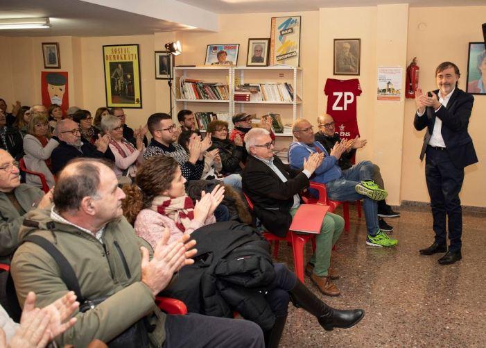 El PSPV de l'Alcúdia aprova per aclamació la llista presentada per Andreu Salom a les Eleccions Municipals