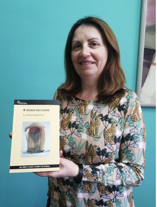 Mª Carmen Sáez presenta el seu llibre 'Les hores imprecises' a Almussafes