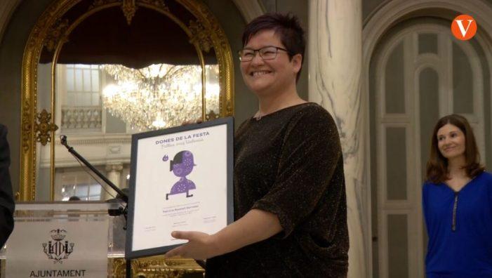 L'Ajuntament de València lliura diplomes a les dones guardonades en 'Reconeixement a les Dones de la Festa'