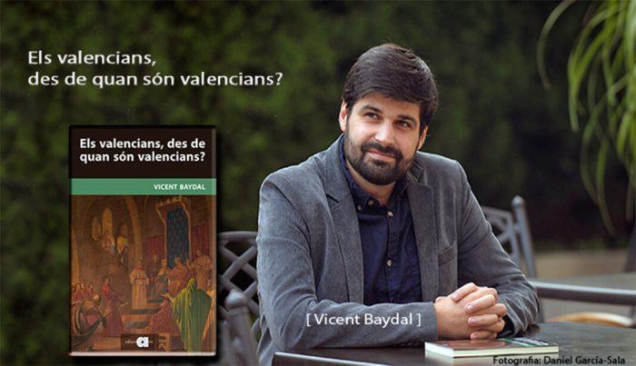 Vicent Baydal presenta el seu llibre 'Els valencians, des de quan són valencians?' a Almussafes