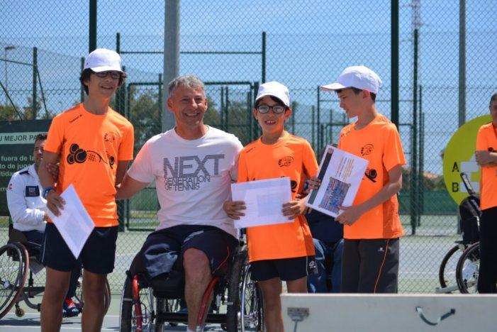 Els millors tenistes en cadira de rodes es donen cita en el XXI Open Nacional TSR d'Almussafes