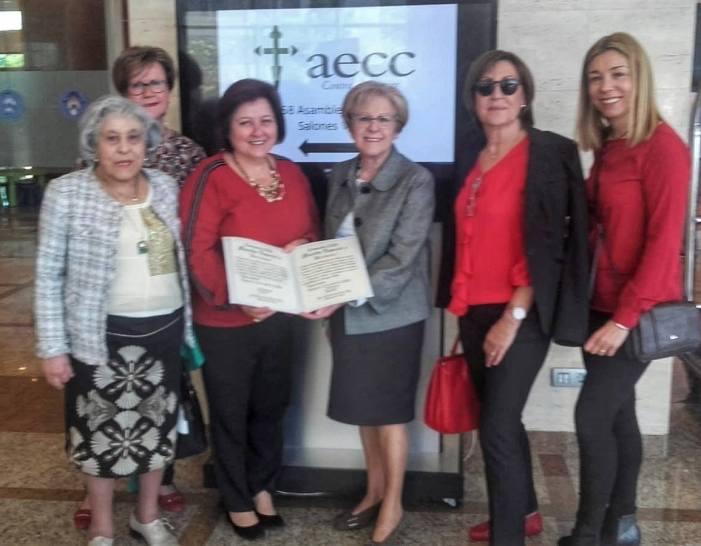 La Junta Local contra el Càncer de Burjassot aconsegueix la major recaptació solidària de la Comarca