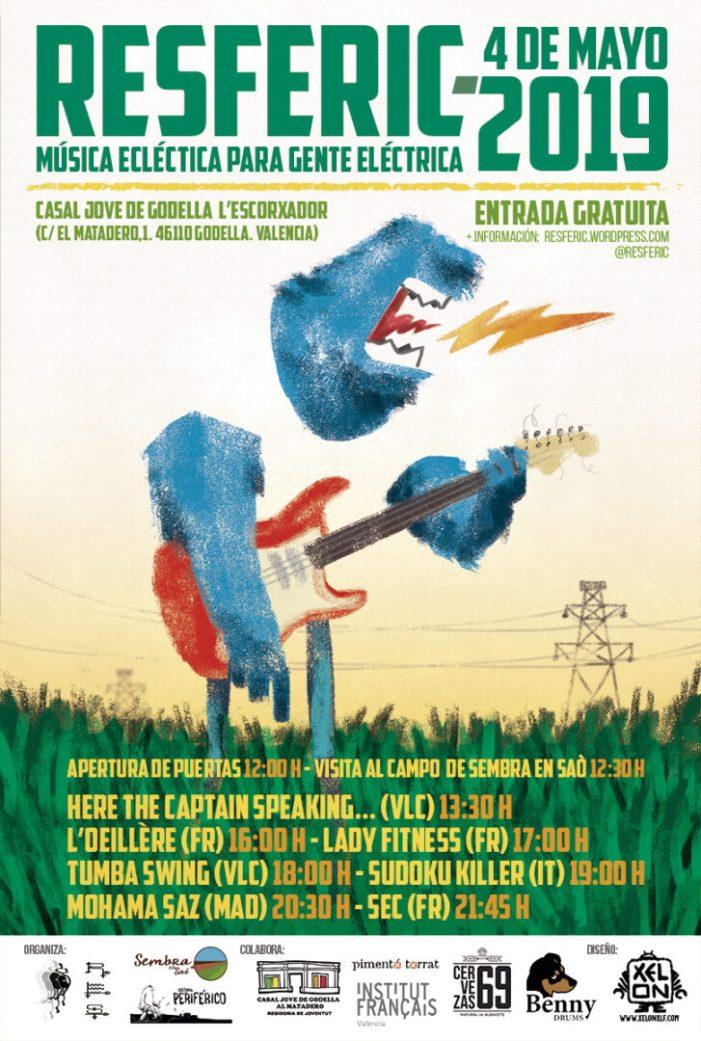 El 4 de maig, música i agricultura ecològica en la tercera edició del festival Resferic en Godella