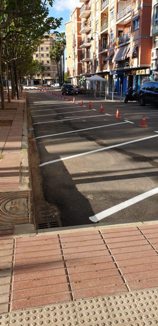 Canvia l'aparcament al carrer Alquenència d'Alzira