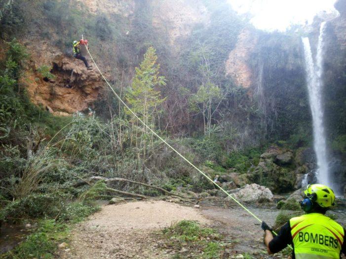 El Consorci ja ha rescatat enguany a més de 20 persones perdudes o acccidentades en la muntanya