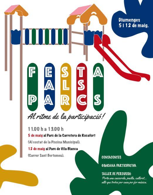 Dos parcs de Godella reformats amb pressupostos participatius acolliran dues festes el 5 i 12 de maig