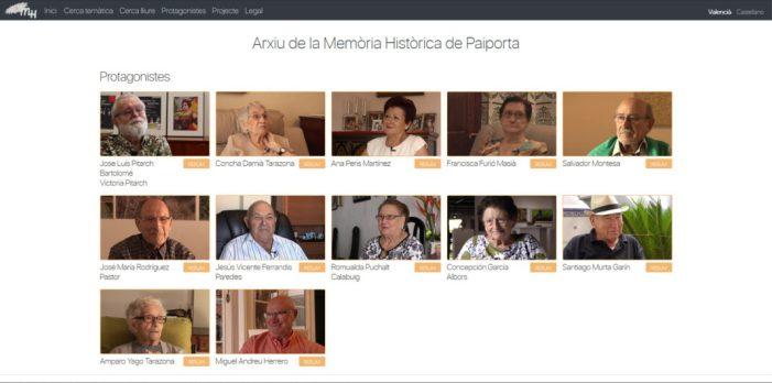 Paiporta presenta el seu Arxiu de la Memòria