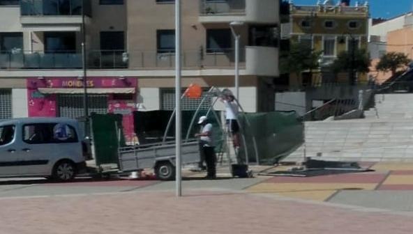 Ciutadans a Alzira critica la hipocresia i l'oportunisme del tripartit amb la Plaça Cartonajes