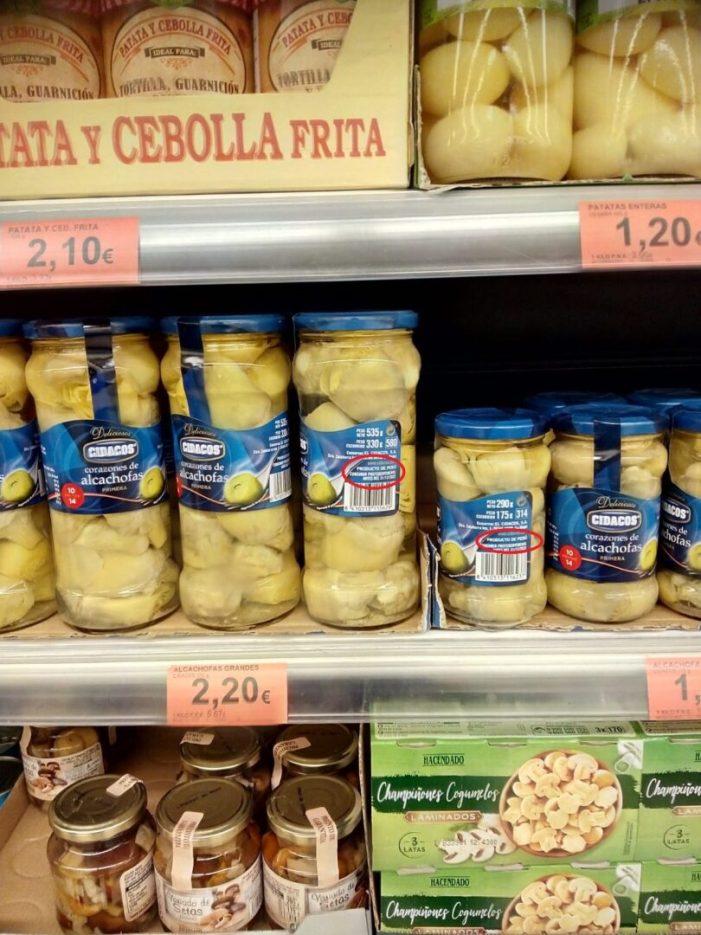LA UNIÓ denuncia que les importacions massives de carxofa del Perú afonen en aquest final de campanya els preus en camp en les nostres zones productores