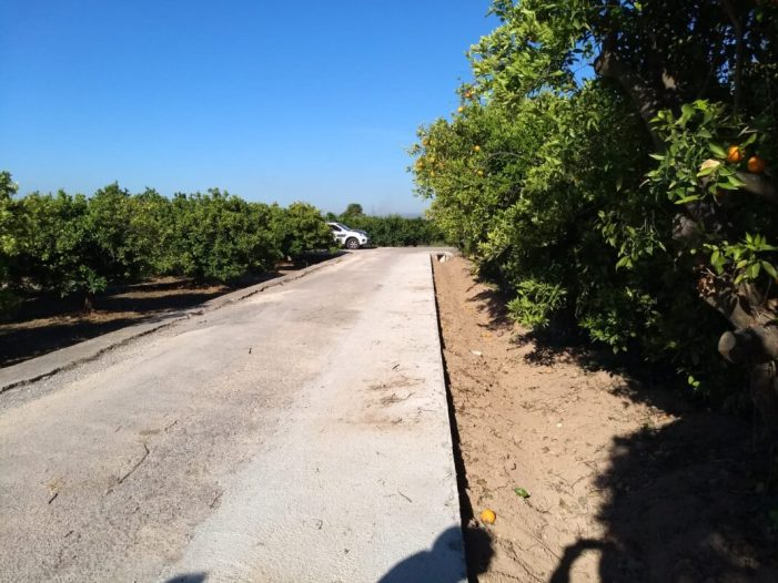 Continuen les millores als camins rurals