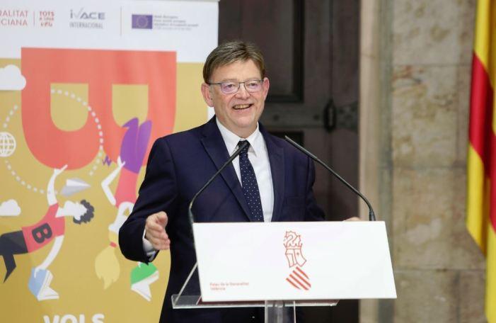 Ximo Puig reivindica el paper dels joves per a impulsar i reforçar el projecte europeu
