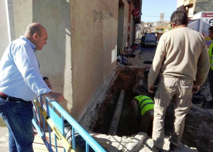 Turís connecta la canalització del Ràfol a la xarxa general d'abastiment al poble