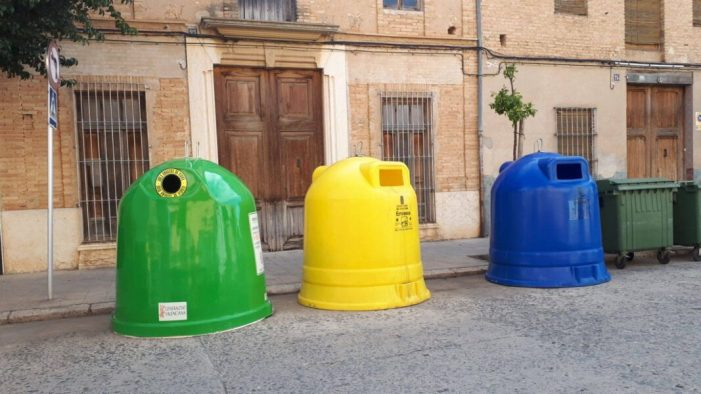 L'Alcúdia torna a augmentar el reciclatge de manera considerable