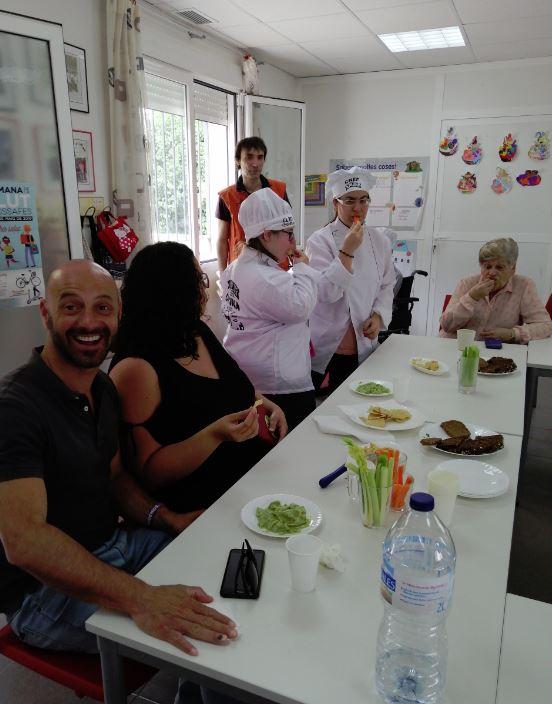 Taller de cuina vegana en la Setmana de la Salut d'Almussafes de la mà de Som i Estem