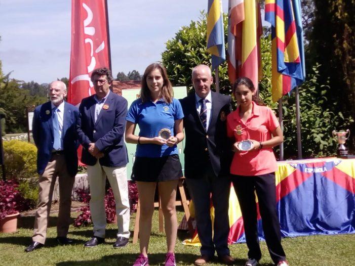 La golfista almussafenya Ana Soria continua imparable la seua trajectòria esportiva