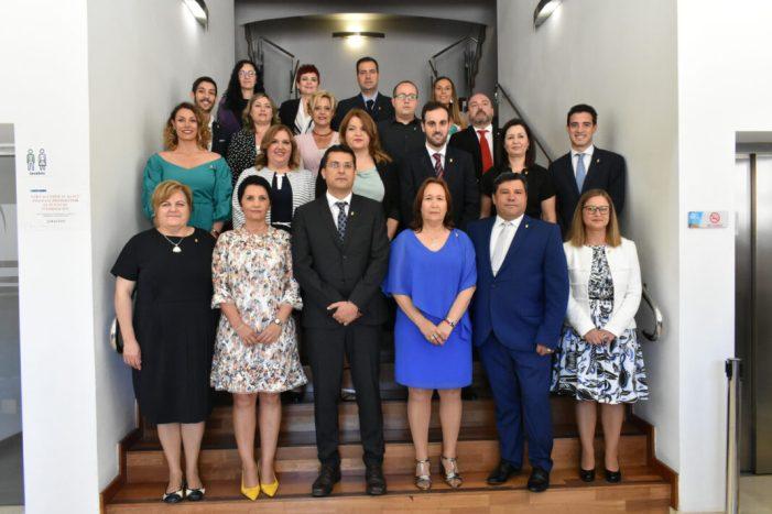 L'Ajuntament d'Alfafar constitueix la seua nova corporació municipal