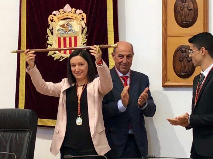 La corporació municipal elegeix Marta Trenzano com a alcaldessa d'Algemesí