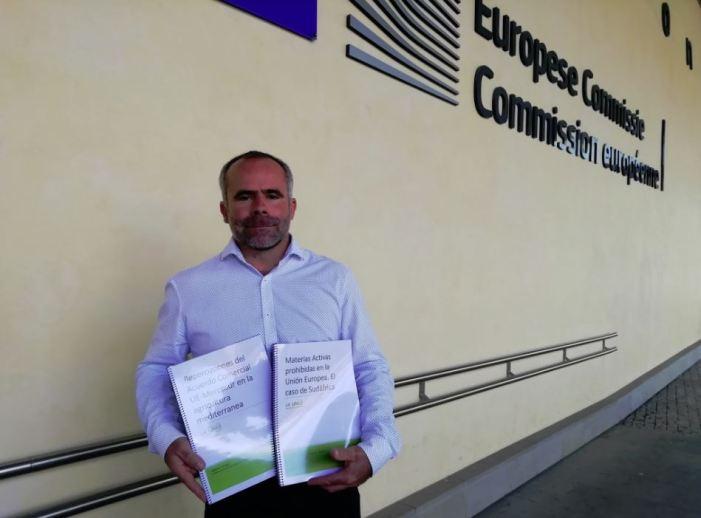 LA UNIÓ presenta en la Comissió Europea dos informes sobre matèries actives de pesticides i Mercosur per a traslladar la preocupació dels productors pels acords amb tercers països