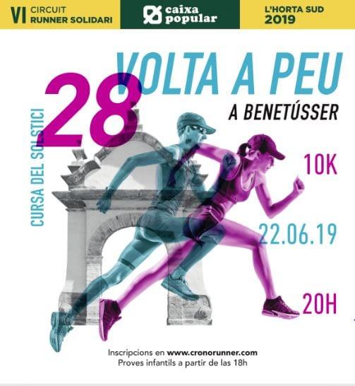 Benetússer rep l'estiu amb la 28 edició de la seua Volta a Peu Cursa del Soltstici