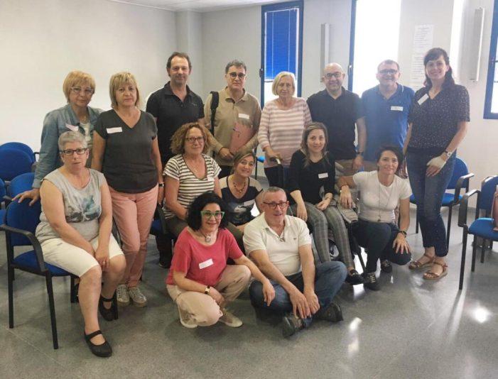 El Departament de la Ribera forma en autocures de salut a una trentena de pacients i professionals