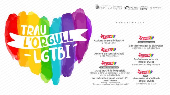 Paiporta celebra el Dia de l'Orgull LGTBI amb una completa programació
