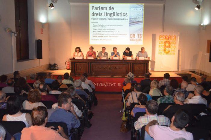 Escola Valenciana mostra satisfacció per la creació de la Càtedra Drets Lingüístics