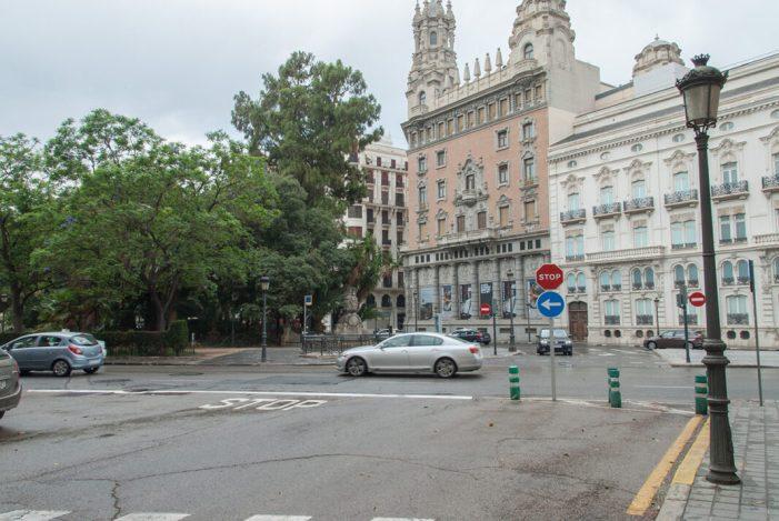 El servici de Mobilitat Sostenible de l'Ajuntament de València modifica l'accés del carrer Ximénez de Sandova
