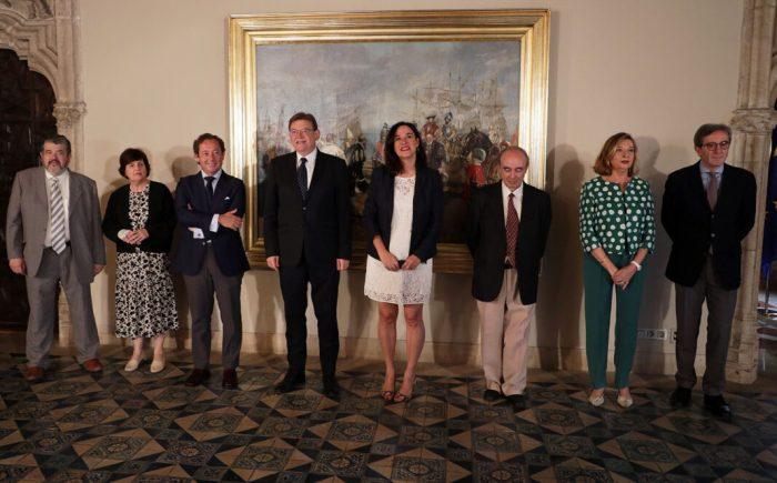 Puig rep la memòria anual del Consell Jurídic Consultiu