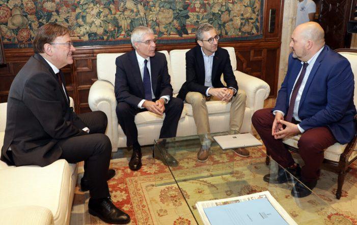 Ximo Puig rep en audiència el president de Renfe