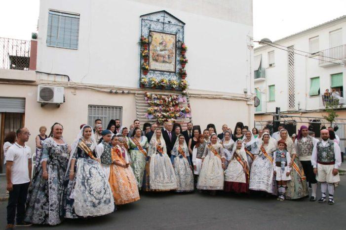 El diumenge 14 de juliol, la Processó en honor a la patrona posava fi als festejos celebrats durant deu jornades consecutives