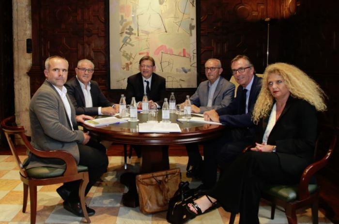 Ximo Puig es reuneix amb representants del sector citrícola abans viatjar a Brussel·les