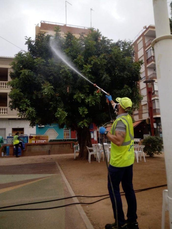 L'Ajuntament d'Almussafes combat els mosquits 'rantella' i la mosca negra amb l'arribada de l'estiu