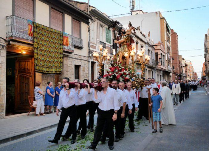 Alboraia festeja al seu patró en el dia de Sant Cristòfol