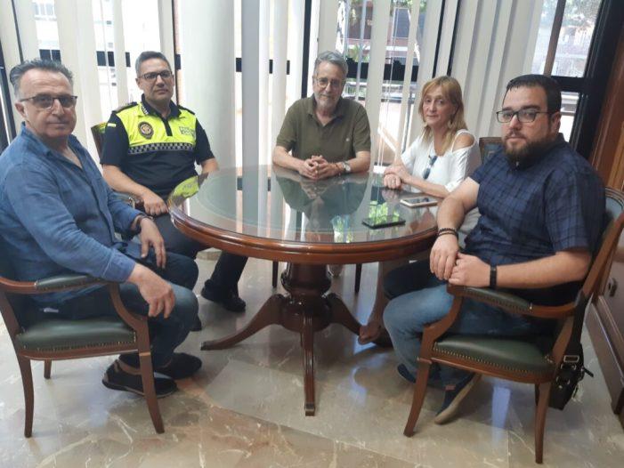 L'Ajuntament d'Albal es reuneix amb ACIXEA per a abordar temes de comerç i seguretat