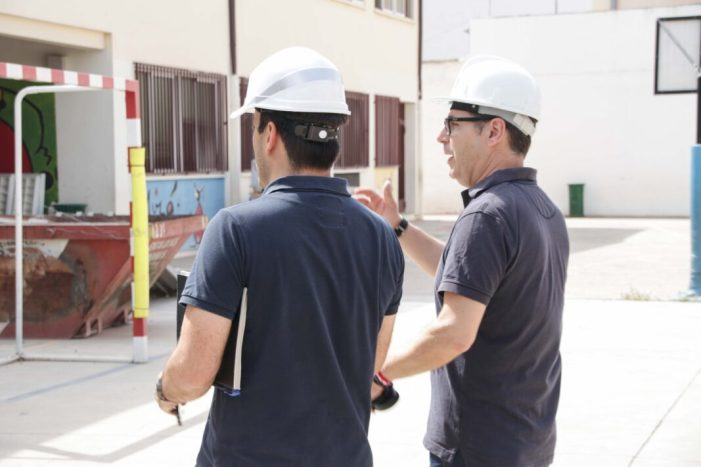 Alaquàs inicia les obres de renovació i millora dels col•legis i instituts del municipi dins del pla edificant